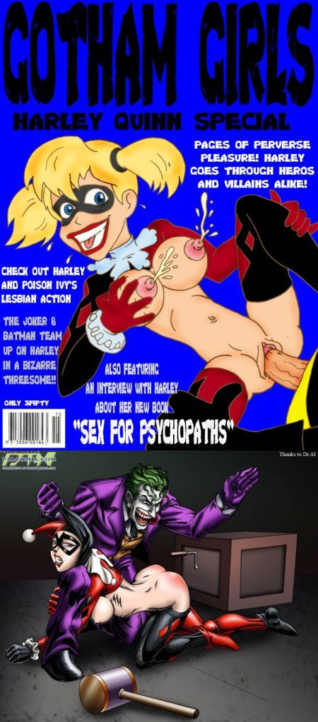 Comics art Harley Quinn. Part 3