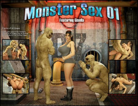 Blackadder - Monster Sex [3d]